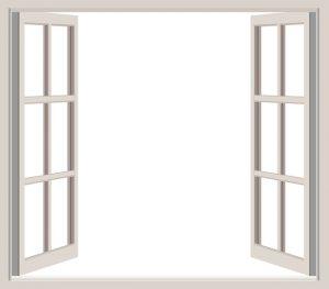 fönsterkarmen är fönstrets stomme